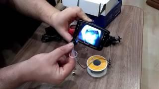Обзор на подводную камеру [ Eyoyo 1000TVL ]
