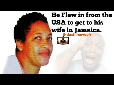 Husband fly in from USA to Jamaica to dash weh wife