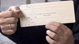 Wie funktioniert das Speichern auf einer Lochkarte?