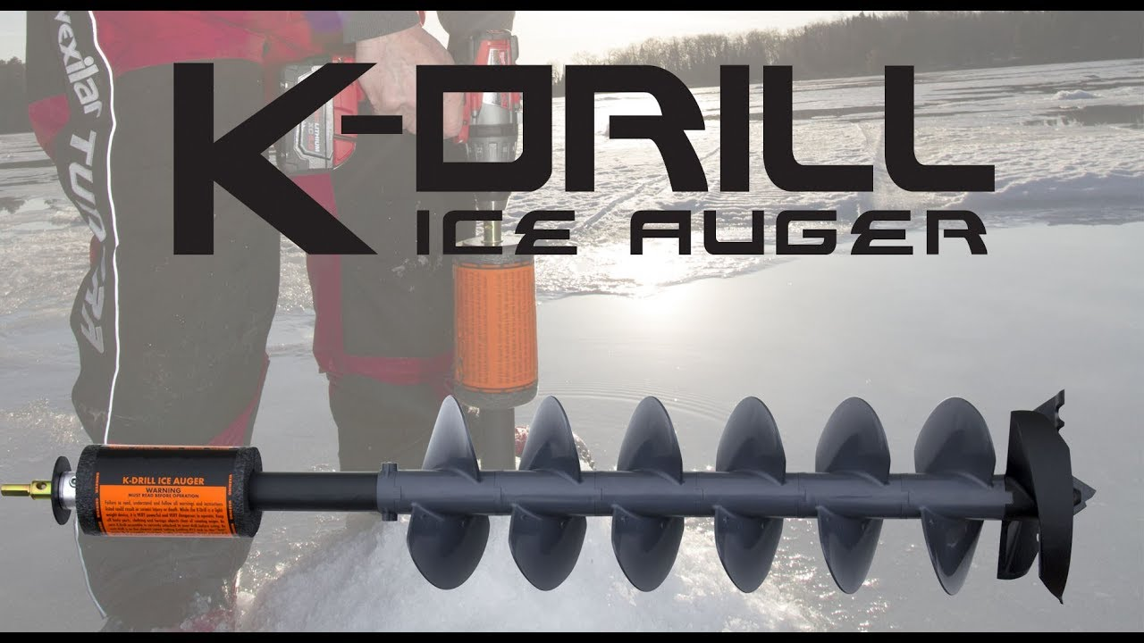 The K-Drill Electric Ice Auger TV Commercial