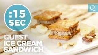 Quest Ice Cream Sandwich - #15secondrecipe