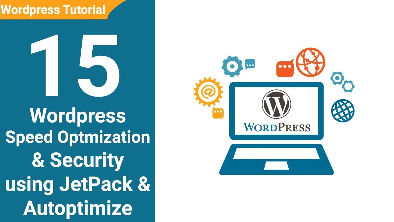 15 WordPress Website Security & Optmization using JetPack &
