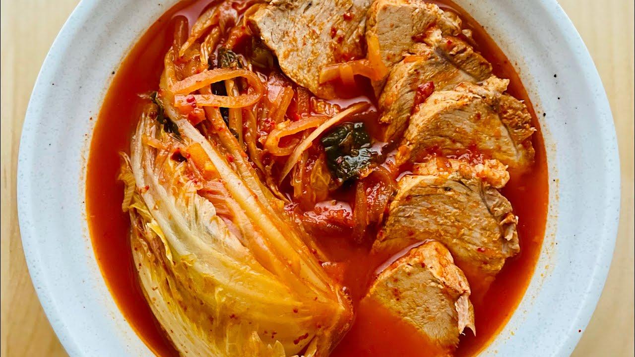 Kimchi Jjigae - Spicy and non-spicy | 김치찌개 | 매운맛 순한맛