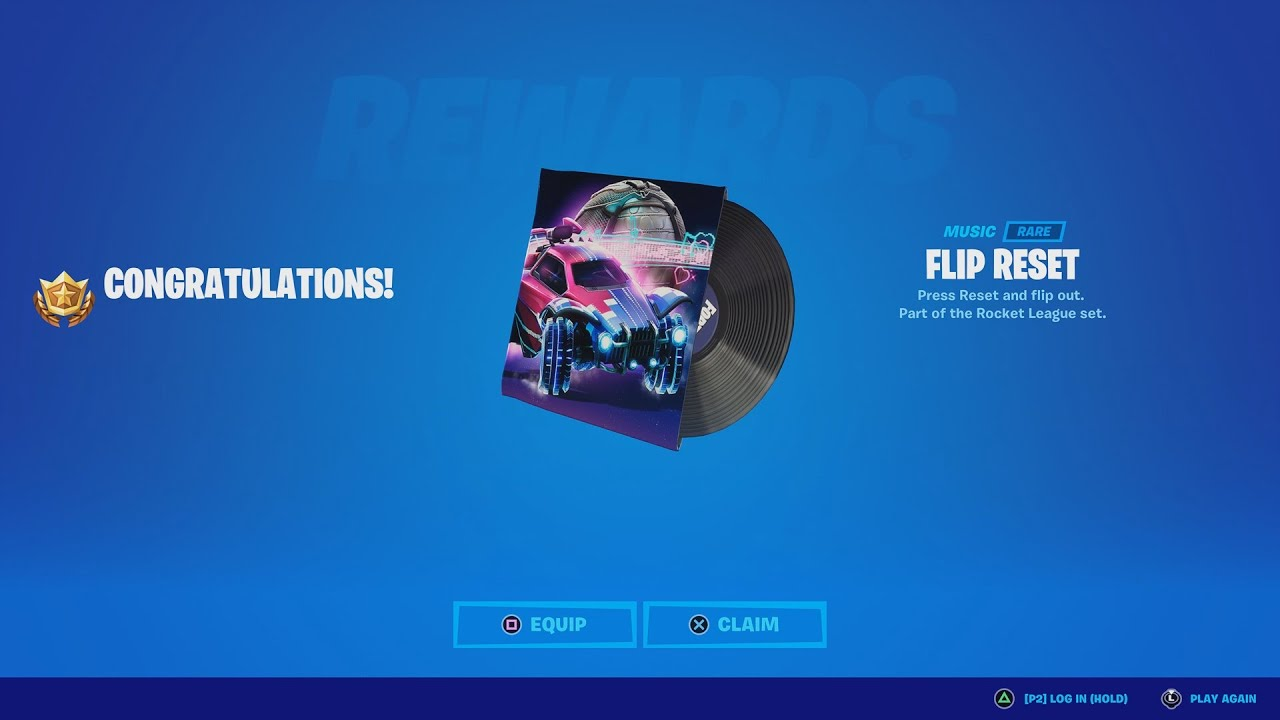 Download The FLIP RESET Music Pack Was Just Added Back To Your Locker If You Lost It!