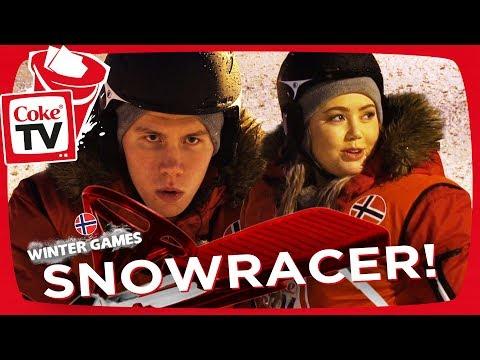 WINTER GAMES!   SNOWRACER!   #CokeTVNorge