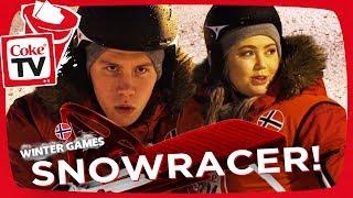 WINTER GAMES! | SNOWRACER! | #CokeTVNorge