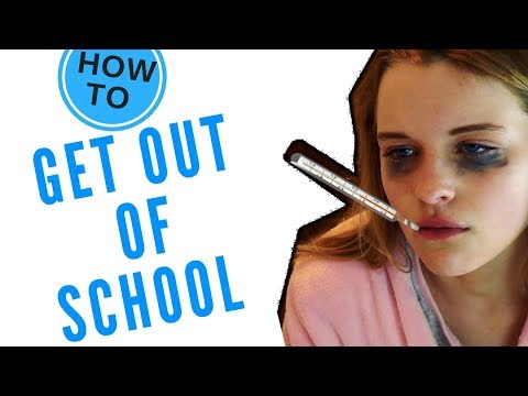 LIFE HACKS - HOW TO GET A DAY OFF SCHOOL || Sabre Norris