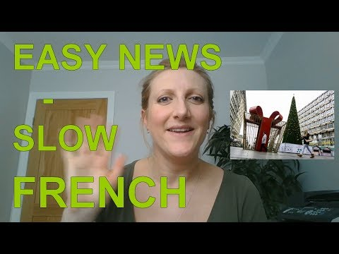 Easy News - Slow French - Learn French - Christmas in Belgrade