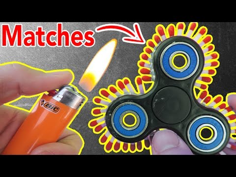 1000MPH FIDGET SPINNER (FIRE WARNING!)