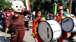 Upin & Ipin Ikut Rombongan Drumband Naik Odong-Odong - Lily Alan Walker - Kangen Banget Karnaval