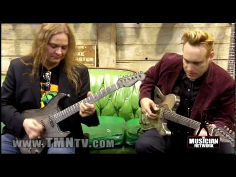 WINTER NAMM 2010 - JAMES TRUSSART GUITARS - DEMO