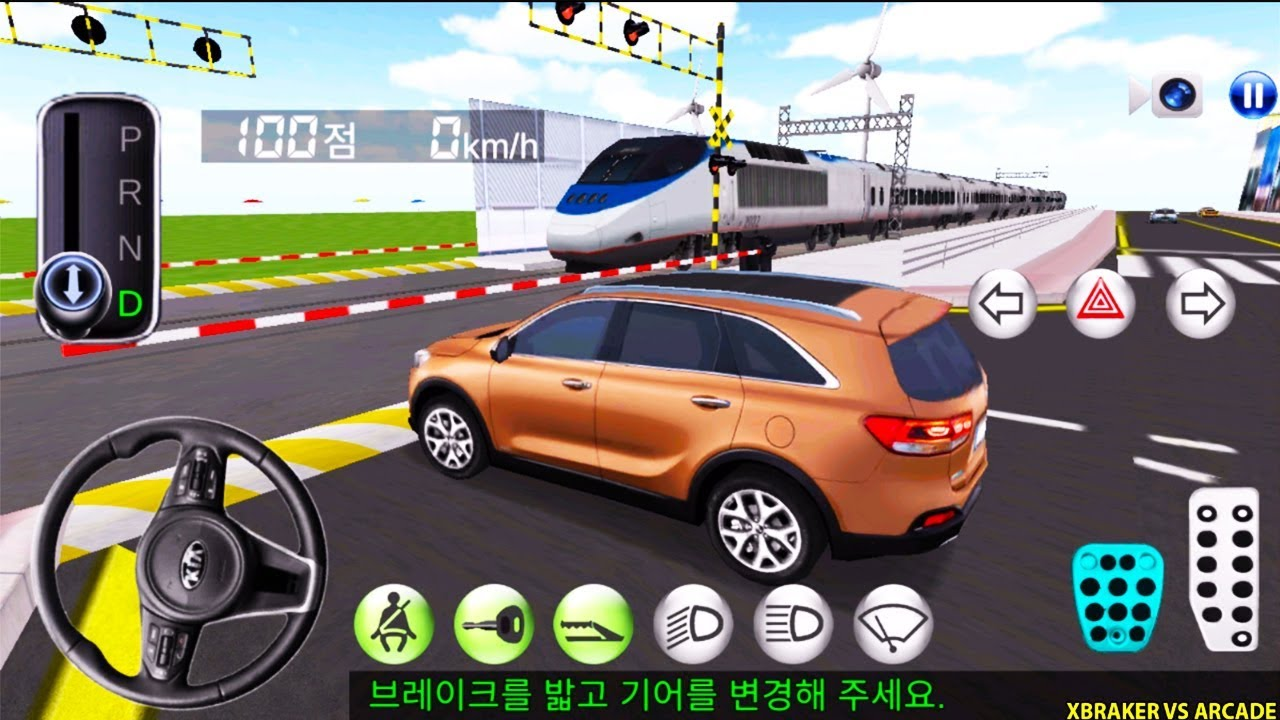 Korean Car Driving Simulator #4 KIA - Driver's License Examination - Best Android Gameplay 2019