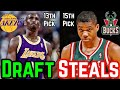 Gambar cover The 10 Greatest NBA Draft Steals Of All Time