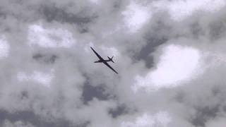 Lockheed U-2 spyplane flyby at the 2011 reno air races