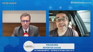 COVID 19 também ataca o cérebro    Fernando Beteti com Dr  Paulo Porto de Melo