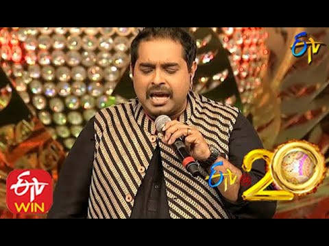 Shankar Mahadevan Performs - Nee Dookudu Song in ETV @ 20 Years Celebrations - 9th August 2015