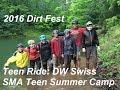 '16 Dirt Fest Teen Ride - SMA Teen Summer Camp, Stone Mountain Adventures