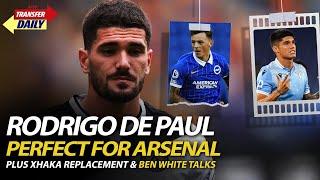 Rodrigo De Paul Perfect For Arsenal | AFTV Transfer Daily LIVE!