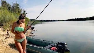ВОТ ЭТО РЫБАЛКА С НОЧЕВКОЙ НА ОСТРОВЕ С ЖЕНОЙ. Рыбалка 2020. Ловля сазана на жмых.