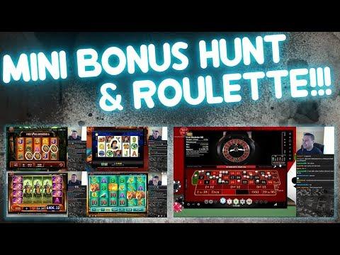 Mini Bonus Hunt & Roulette!!! (from Sat live stream)