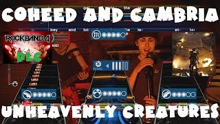 Coheed and Cambria - Unheavenly Creatures - Rock Band 4 DLC Expert Full Band (September 27th, 2018)