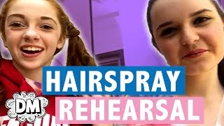 Hairspray Behind the Scenes Dress Rehearsal! | Alyssa Vlogs