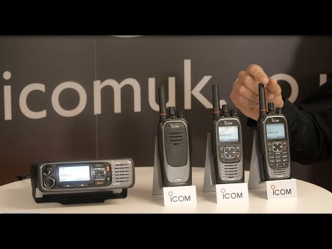 Introducing Icom's New IDAS Digital Two Way Business Radio Series