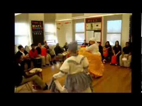 2013-BOMBA in CT at McDonough Expeditionary Learning School (MELS), Hartford Performs program