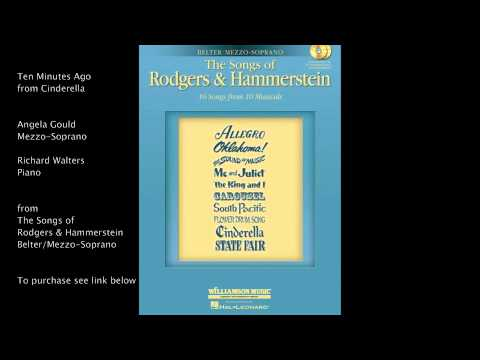 "Ten Minutes Ago from ""Cinderella"" (Belter/Mezzo-Soprano) by Richard Rodgers and Oscar Hammerstein II"
