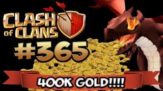 CLASH OF CLANS #365 ★ 400K GOLD DRACHEN RAID ★ Let's Play COC ★ | German Deutsch HD |