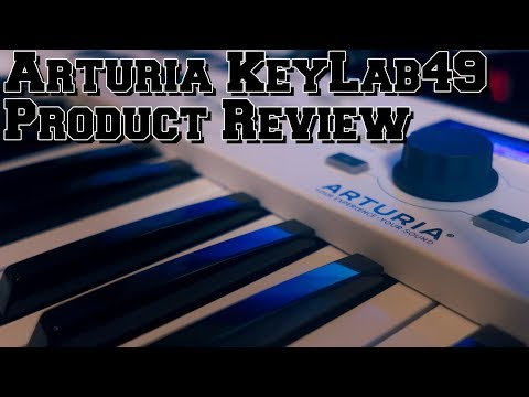 Arturia KeyLab 49 Essential Product Review The Best Midi Keyboard Out?