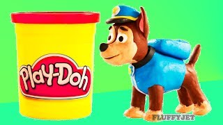 Play Doh Paw Patrol Chase video