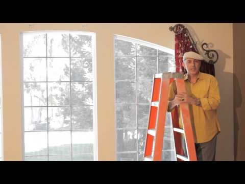 Video #44: Arched Window Treatments - How to install dazzling arched window treatments