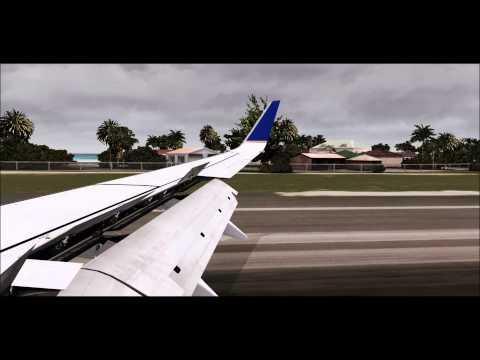 [FSX] Landing at St-Maarten (SXM/TNCM) Netherlands Antilles