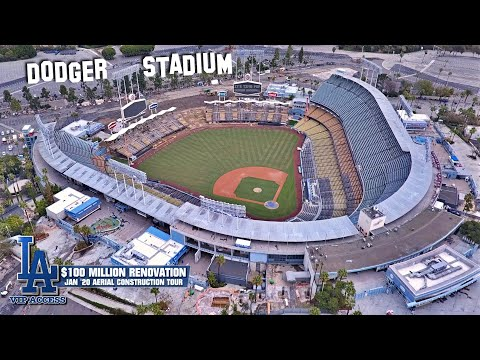Dodgers: 2020 Stadium Renovations Reportedly Going Smoothly