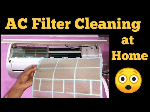 How to Clean Air Conditioner Filter at Home