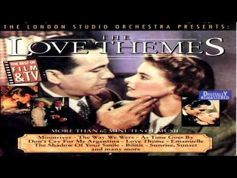 The London Studio Orchestra ‎– The Love Themes / The Best Of Film & T V - Digitally Remastered GMB