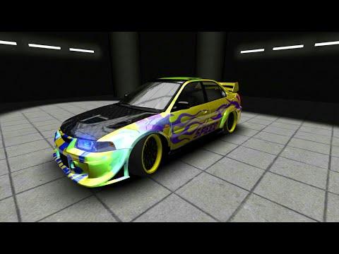 Customizing Mitsubishi lancer in street racing part 2
