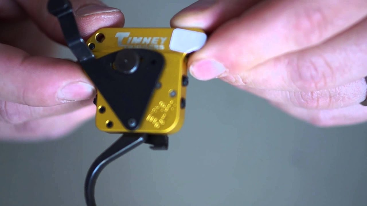 Timney Calvin Elite Trigger for the Remington 700