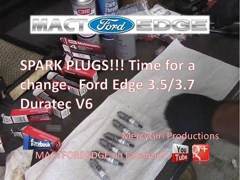 2011 Ford Edge 3 5 Duratec spark plug, PCV, Upper Plenum Gasket, Throttle body