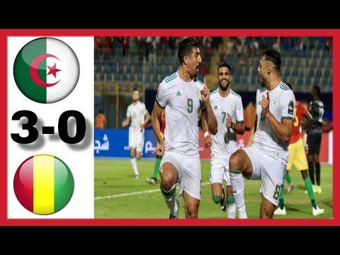 ALGERIA VS GUINEA | 3-0 | HIGHLIGHTS & GOALS