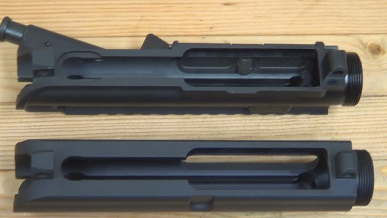 AR Upper Receivers-Whats The Difference