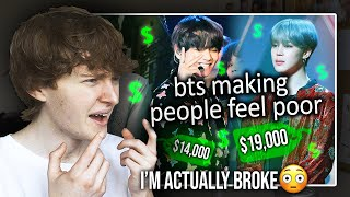 Download I'M ACTUALLY BROKE! (BTS making people feel poor | Reaction/Review)