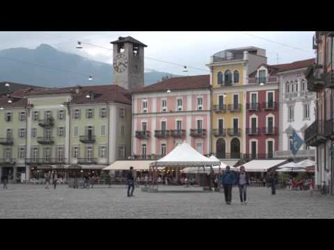 Locarno  and Ascona in the Ticino, Switzerland