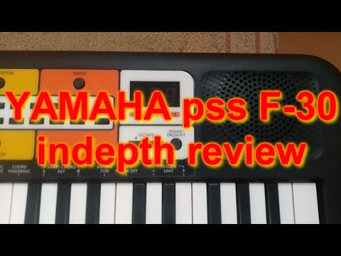 YAMAHA pss F-30 full in-depth review