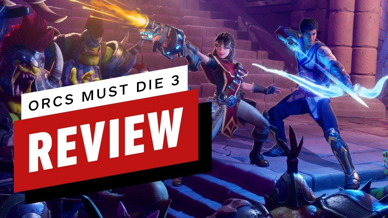 Orcs Must Die! 3 Review (Video Game Video Review)