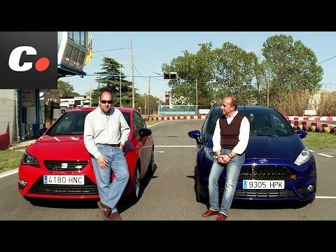 Seat Ibiza Cupra vs Ford Fiesta ST – Prueba / Test / Review Coches.net