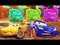 Disney Cars 3 Lightning Mcqueen Learn Colors Cars Cartoon BEST SCENES FUNNY BABY #41