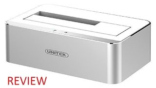 UNITEK USB 3.0 to SATA External Aluminium Hard Drive Docking Station Review