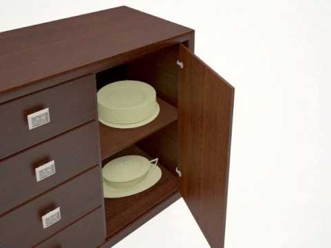 Furniture animation in 3d max and v-ray -example 1